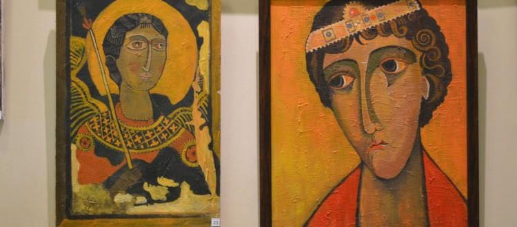Выставка Юрия Бочарова